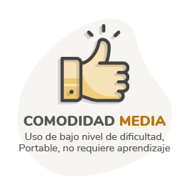 Comodidad media